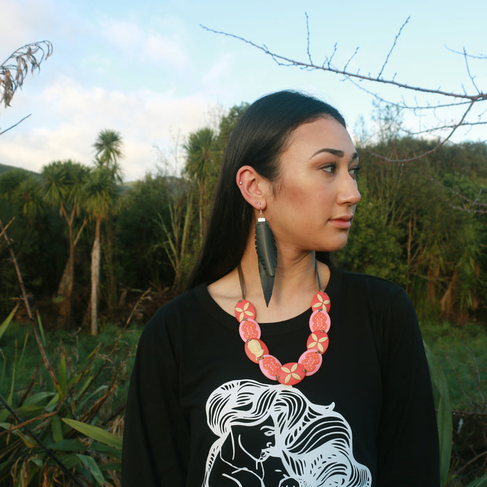 Hono - recycled earrings