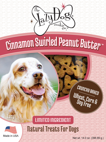 All-natural limited ingredient, pumpkin grain-free dog treats with cinnamon
