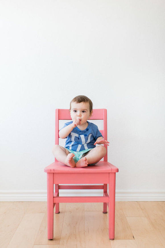 Ramble and Company - TX Kids Tee in Blue