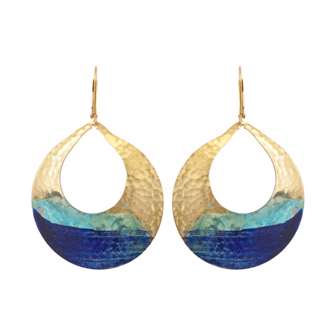 We Dream in Colour - Watercolor Devi Earrings