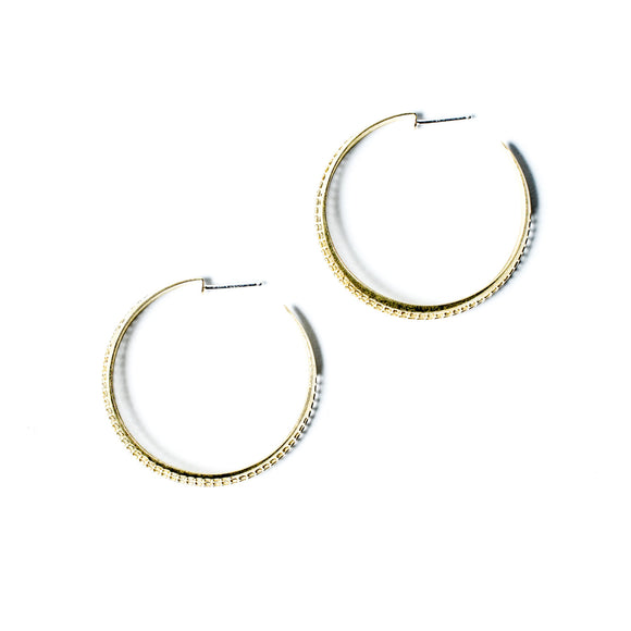 Michelle Starbuck Designs - Perforated Hoops