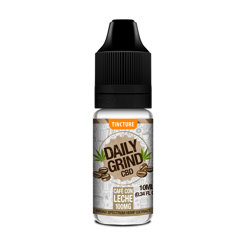10ml Daily Grind Broad-Spectrum CBD Tincture - Clearance