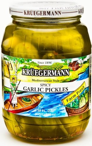 Spicy Garlic Pickles
