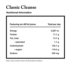 classic cleanse