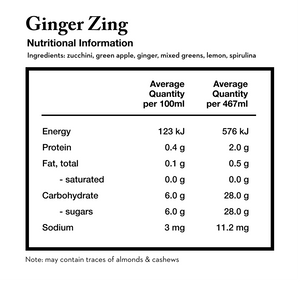 ginger zing