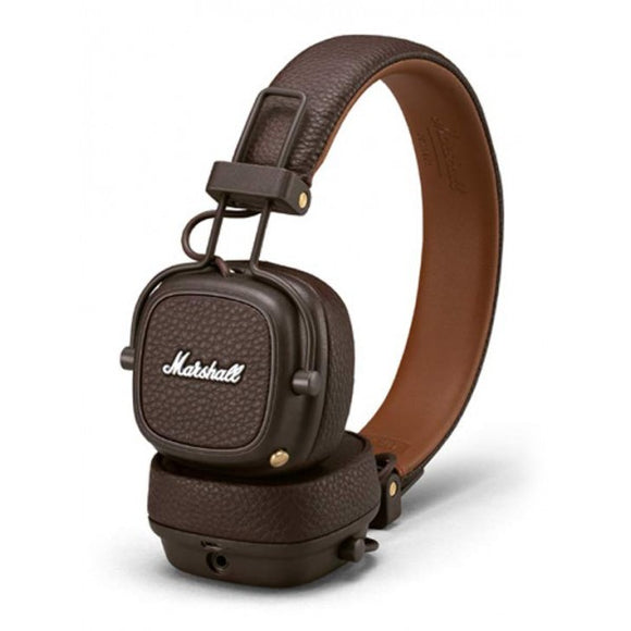Avvenice Marshall - Major III Bluetooth - Brown - Bluetooth Wireless Headphones - Iconic Classic Premium High Quality