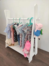 Load image into Gallery viewer, Clothing hanger- One shelves - Mincia Studio