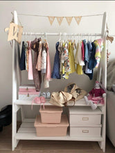 Load image into Gallery viewer, Clothing hanger- Two shelves - Mincia Studio