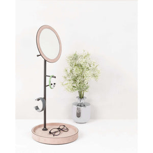 Jewelry Tree Holder & Mirror