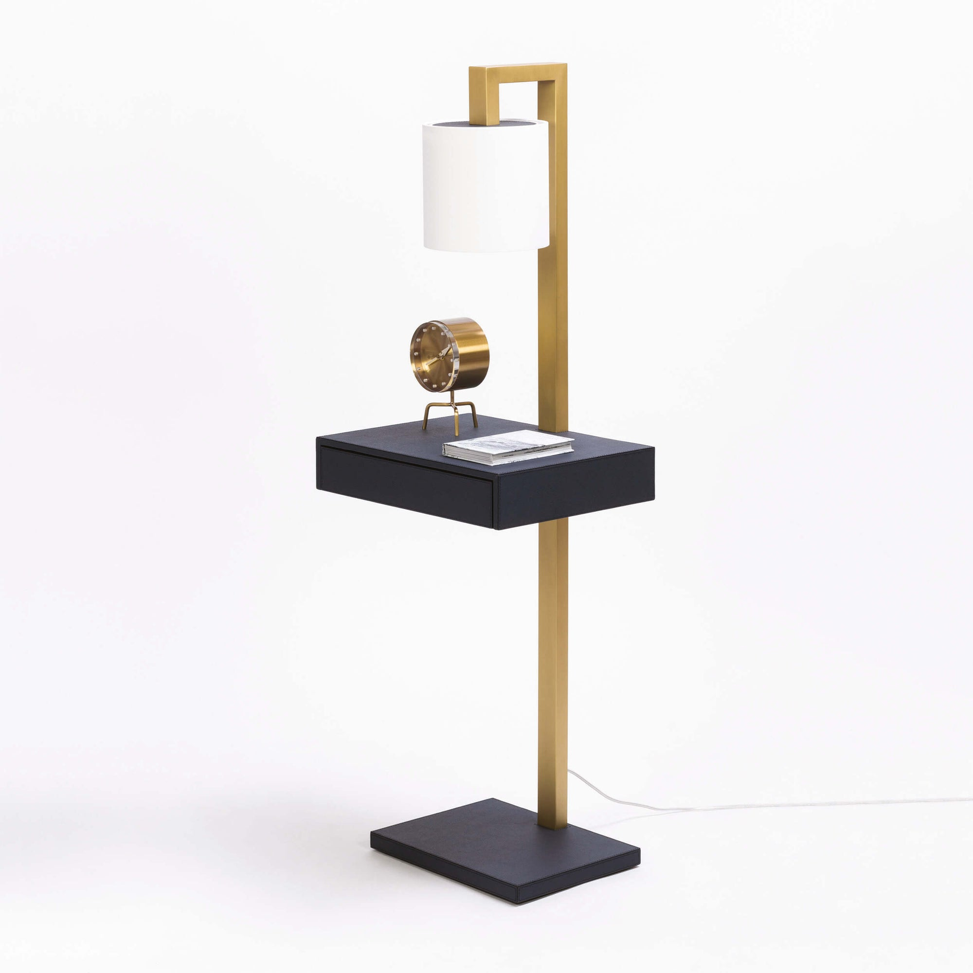 Ernesto Side Table With Lamp
