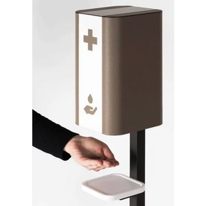 Bicolor Touchless Hand Sanitizing Dispenser Stand