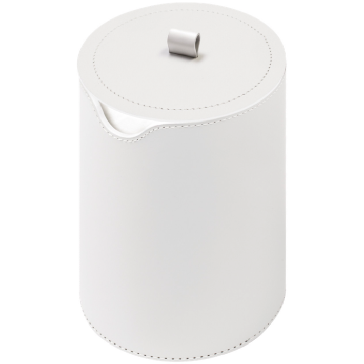 NARCISO TOILET PAPER HOLDER double with lid