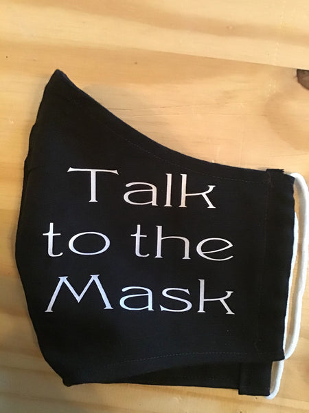 """Talk to the Mask"""