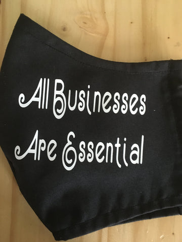 """All Businesses Are Essential"""