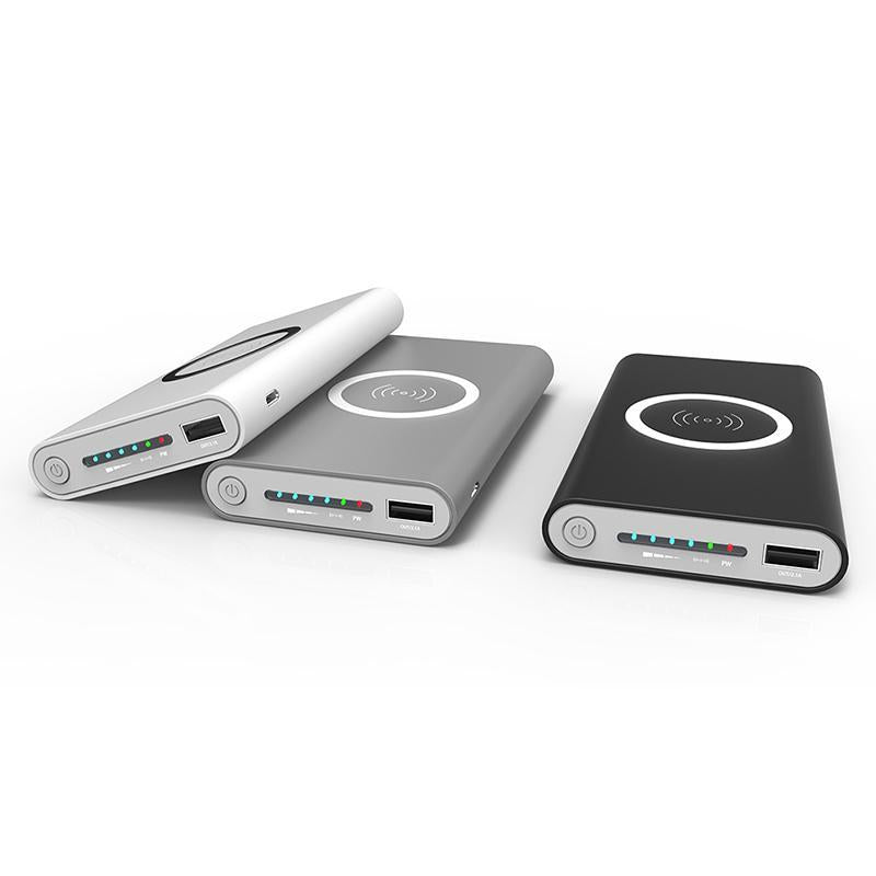 Cargador inalámbrico Power Bank 8000mAh - Carga rápida