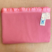 Load image into Gallery viewer, Coral Pink Extra Large KING Australian Wool Onkaparinga Blanket.