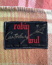 Load image into Gallery viewer, Beautiful Robinwul of Canterbury DOUBLE Pure Wool Blanket. - Fresh Retro Love NZ Wool Blankets