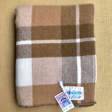 Load image into Gallery viewer, Lovely Thick New Zealand Wool SINGLE Blanket, Smith & Brown Onehunga