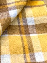 Load image into Gallery viewer, Super Soft Oversize SINGLE in golden sunset browns - Onehunga Woollen Mills - Fresh Retro Love NZ Wool Blankets