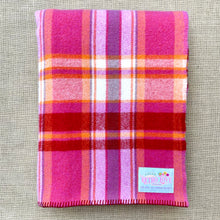 Load image into Gallery viewer, Winegum Collection: Fresh BERRY Love BRAND NEW Wool Blanket by Fresh Retro Love