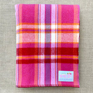 Winegum Collection: Fresh BERRY Love BRAND NEW Wool Blanket by Fresh Retro Love