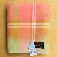 Load image into Gallery viewer, Beautiful Robinwul of Canterbury SINGLE Pure Wool Blanket. - Fresh Retro Love NZ Wool Blankets