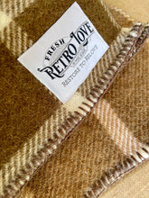 Load image into Gallery viewer, Thick Brown New Zealand Wool SINGLE Blanket