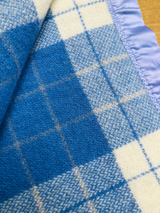 Beautiful Dream Blanket DOUBLE Pure Wool Blanket. - Fresh Retro Love NZ Wool Blankets
