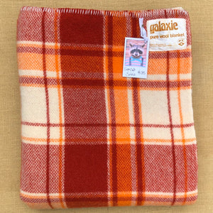 Super Soft  SINGLE Bright Galaxie Pure Wool Blanket