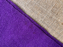Load image into Gallery viewer, Intense Purple KING SINGLE New Zealand Wool Blanket - Fresh Retro Love NZ Wool Blankets