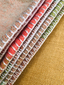 Beautiful Robinwul of Canterbury SINGLE Pure Wool Blanket. - Fresh Retro Love NZ Wool Blankets