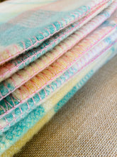 Load image into Gallery viewer, Sensational Pastel SINGLE Pure Wool Blanket. Extra Thick!