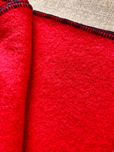 Load image into Gallery viewer, Primary Red THROW Wool Blanket perfect for Pram/Knee Rug - Fresh Retro Love NZ Wool Blankets