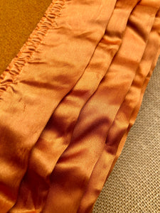 Rich Turmeric beautiful DOUBLE Pure Wool Blanket with Satin Trim. - Fresh Retro Love NZ Wool Blankets