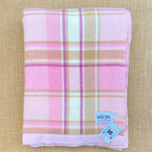 Load image into Gallery viewer, Thick & Soft Pastel Oversize SINGLE Pure New Zealand Wool Blanket