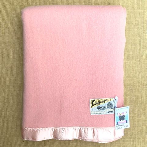 Thick & Soft SINGLE Wool Blanket PRINCESS Onehunga