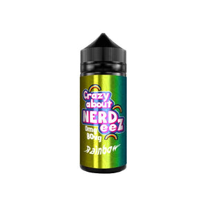 Crazy about Nerdeez 0mg 120ml Shortfill (80VG/20PG)