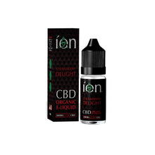 Load image into Gallery viewer, ION Pure CBD Organic E-Liquids 300mg CBD 10ml