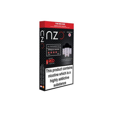 Load image into Gallery viewer, NZO 10mg Salt Cartridges with Red Liquids Nic Salt (50VG/50PG)