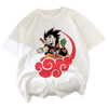 Camiseta - Dragon Ball x Naruto - Cultura Manga