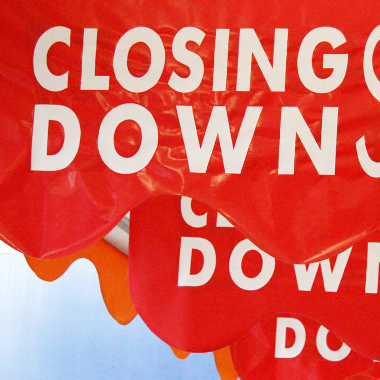 Closing Down …… Stores or Communities