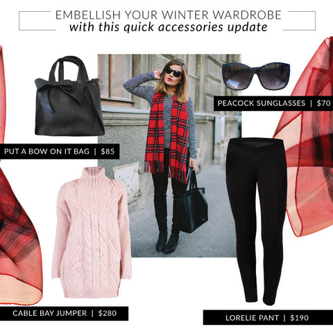Embellish your winter wardrobe