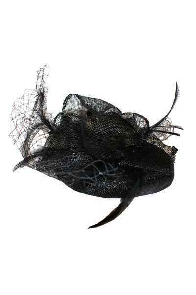 The Black Prince Fascinator