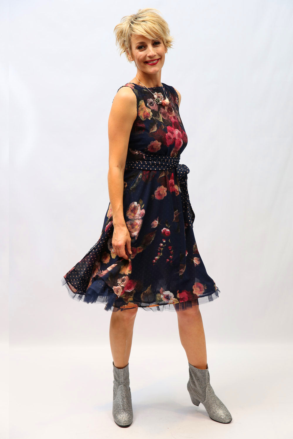 Abigail FlipIt | Wrap Dress | Addicted to Life | New Zealand Designer | New Zealand Fashion | Annah Stretton / Floral Dresses NZ / Floral Summer Dresses NZ / Designer NZ /