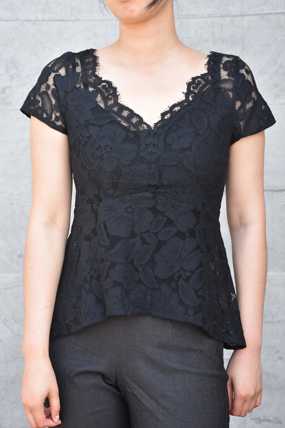 Poppy Posey Top - Black