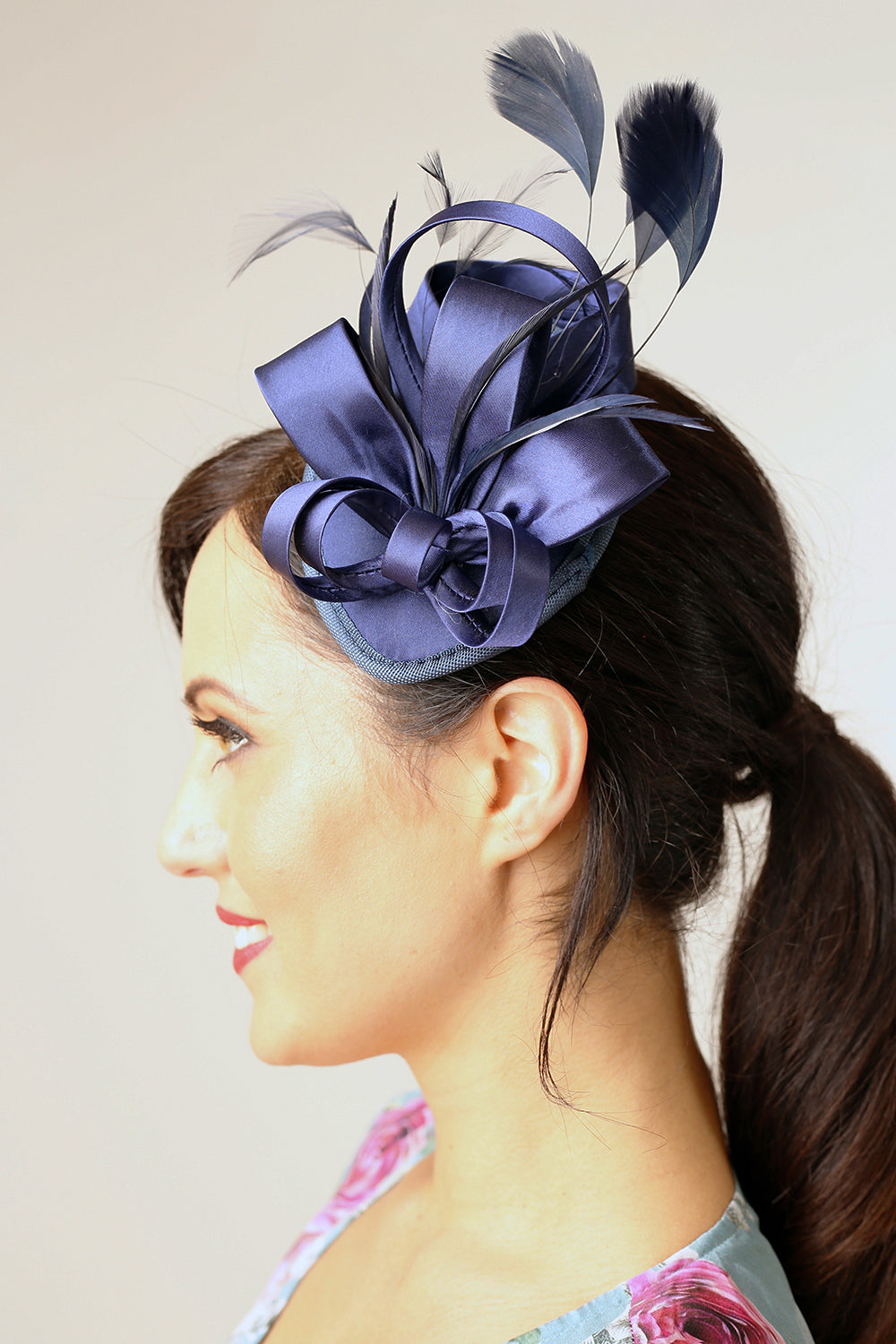 Ribbons in the Sky Fascinator