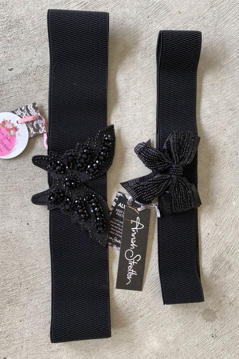 BUTTERFLY & BOW BELT DEAL - 2 PACK