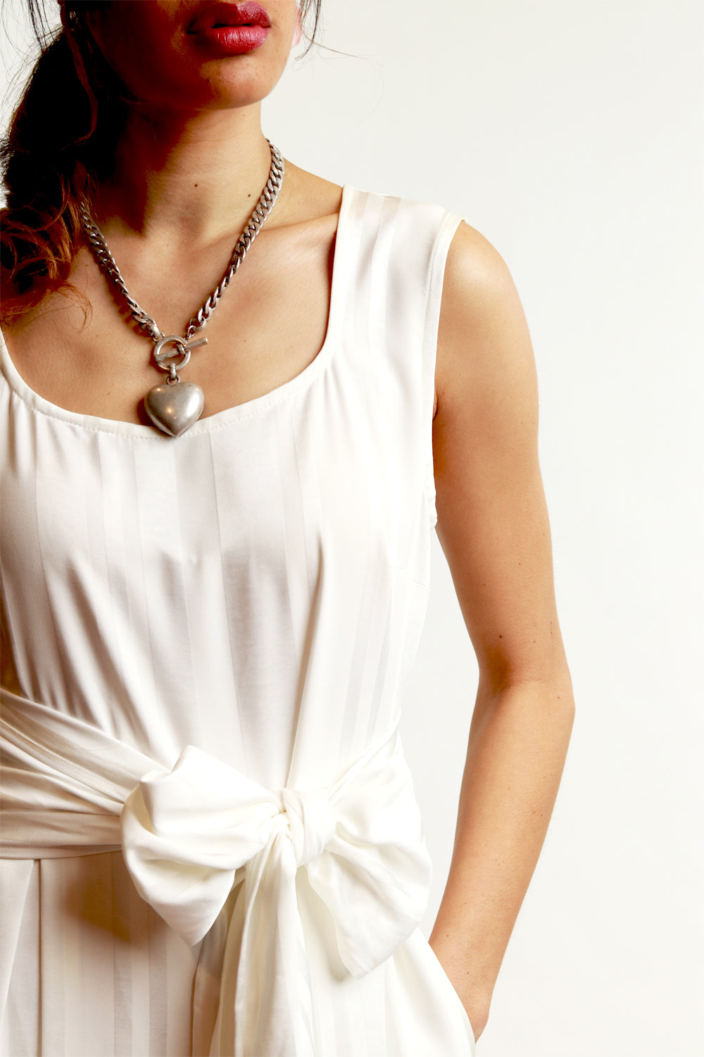 Lucy Lana Jumpsuit White - SALE