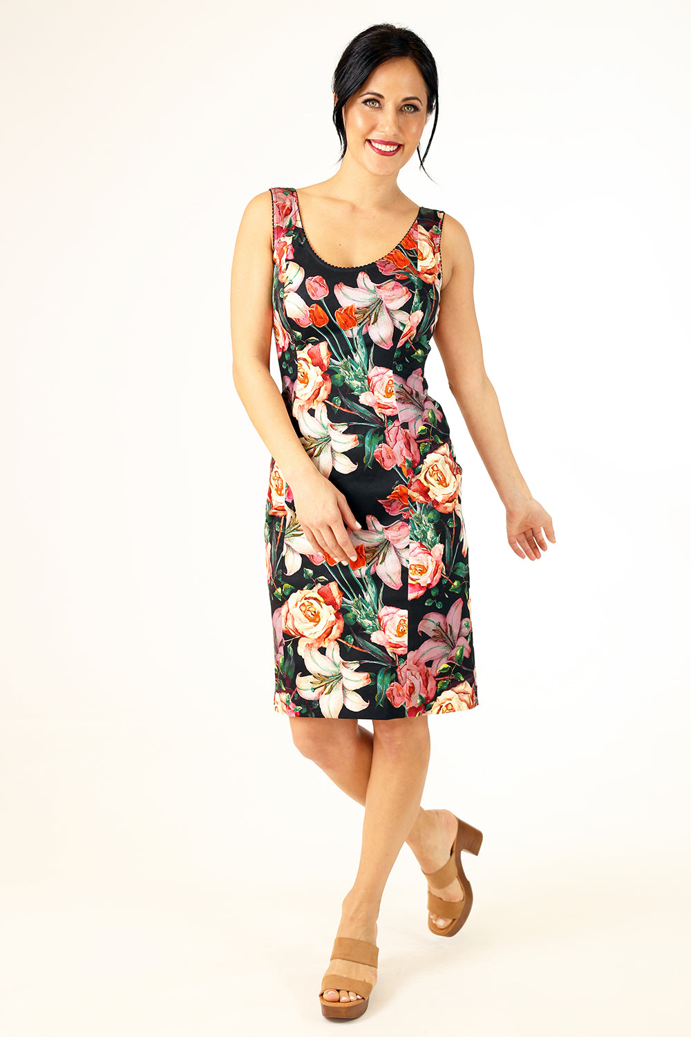 Sorrel Siena Dress - Black Rose