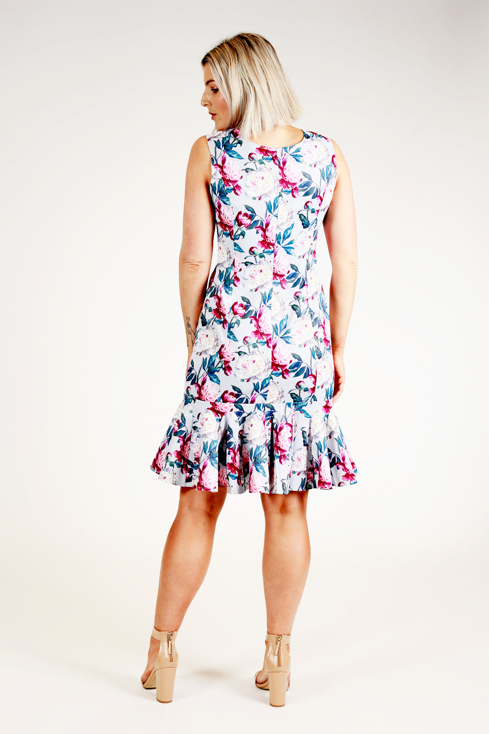 The Lost Lolly Dress - Sky Blue